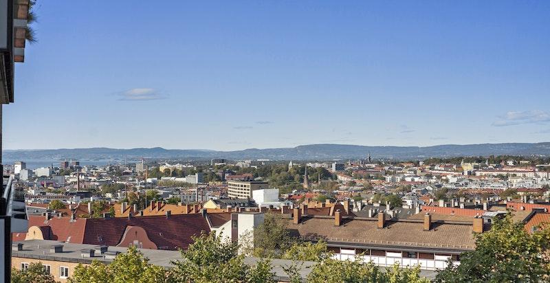 Utsikt fra balkongen - Schouterrassen 4