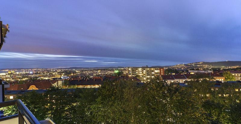 Utsiktsbilde kveld - Schouterrassen 4