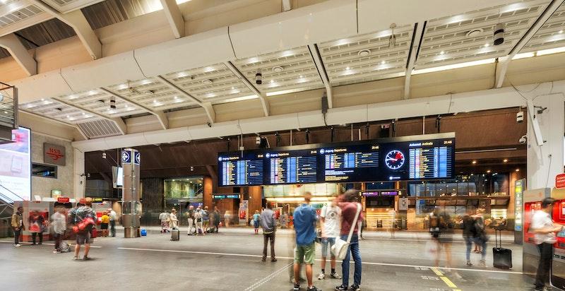 Nærområdet - Sentralbanestasjonen