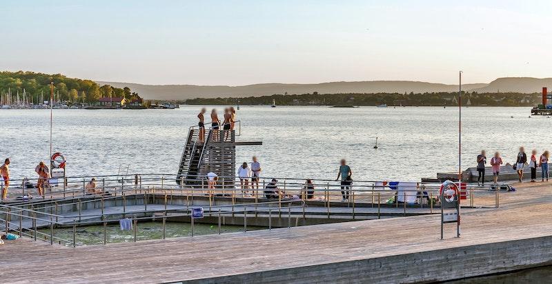 Nærområdet - Sørenga Sjøbad er blitt kåret av The Guardian til en av de ti beste sjøvannsbassengene i Europa