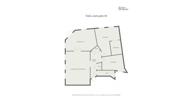 Plantegning NJ 43A