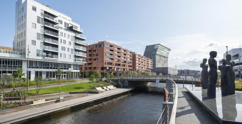 Områdebilde - Bjørvika