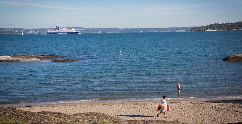 >Eiendommen ligger svært idyllisk til i maritime omgivelser innerst i Holtekilen med sjøen og store rekreasjonsområder rett utenfor døren.