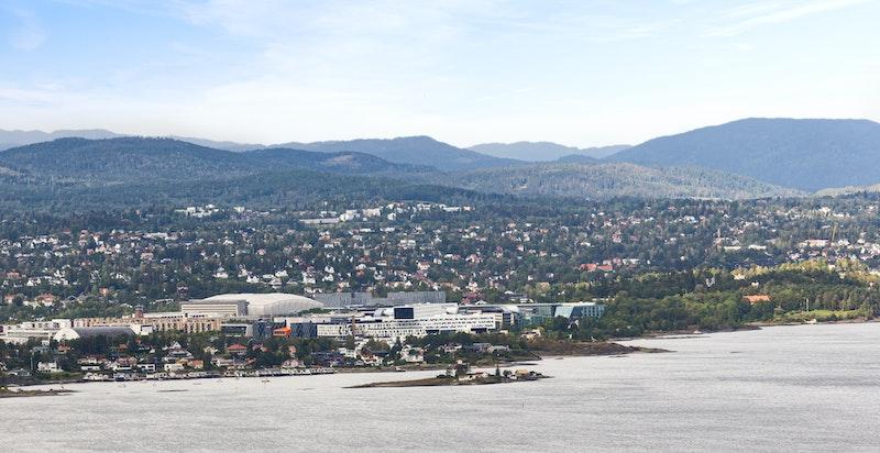 Utsikt mot Fornebu