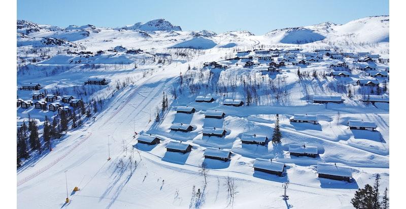 Fyrieggvegen 67-83, Hovdetun sine 9 hytter er nå for salg!