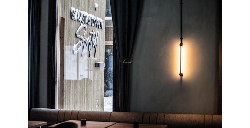 Restaurant Hovdestaul på Gaustatoppen Sportell