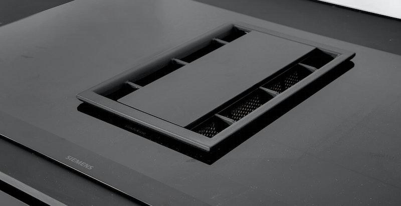 Ventilator integrert i koketopp