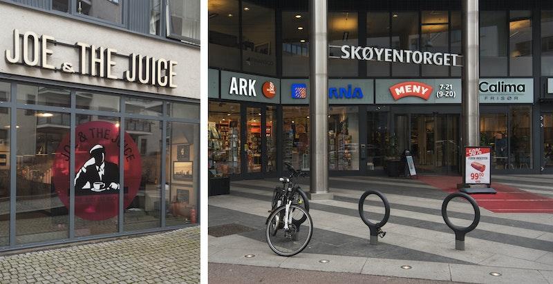 I Karenslyst allé på Skøyen finner man en rekke butikker