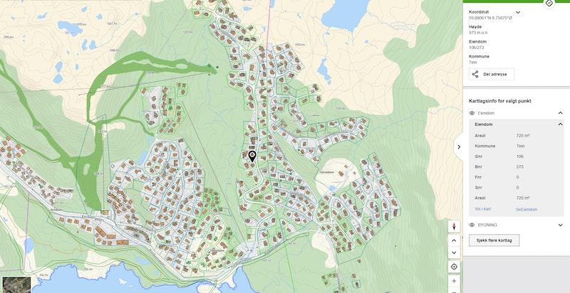 Krosshovdvegen 37 på kommunekart.com