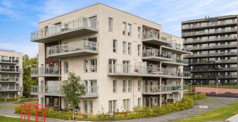 Attraktivt boligområde på Fornebu