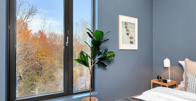 Stor vindusflate bidrar til luftig atmosfære