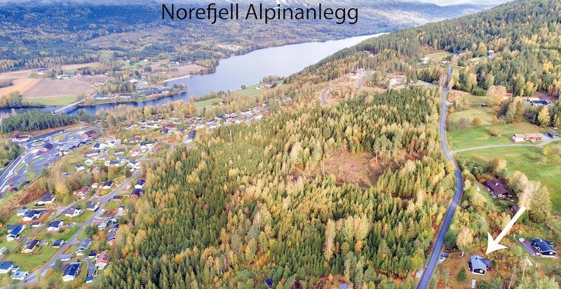 Ca 15 min til Norefjell alpinanelegg