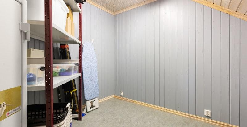 Loftsbod på ca. 17 m²