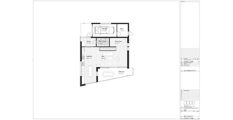 Hus A og B 1 etasje