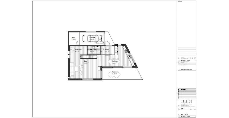 Hus D 1 etasje