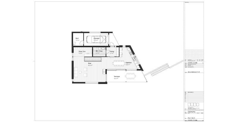 1. etasje, hus D