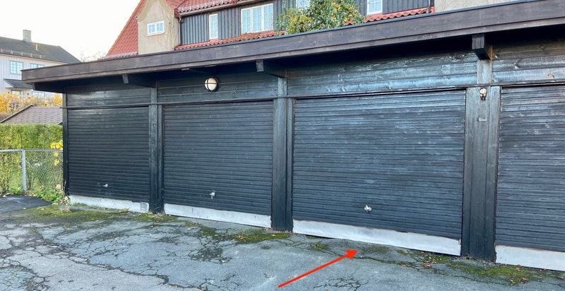 Det er mulig å kjøpe garasje