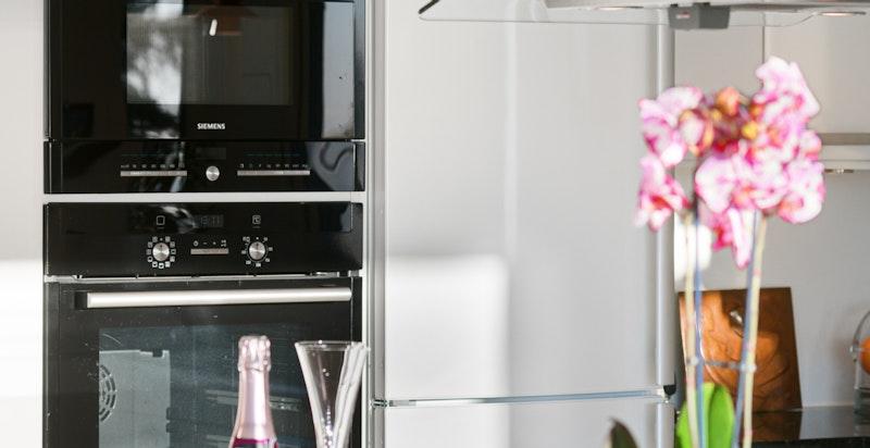 HTH kjøkkenet har integrerte hvitevarer fra Miele, Siemens og Elektrolux