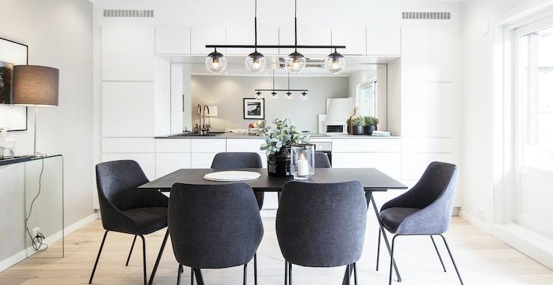 Nytt, moderne kjøkken fra KVIK
