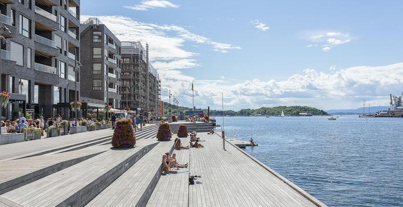 Sørenga- et unikt bomiljø i Oslo!
