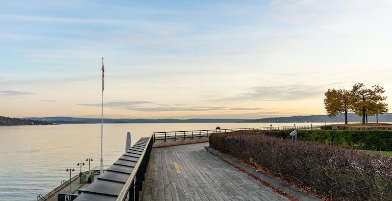 Lysaker Brygge - her bor du med sjøen som nærmeste nabo