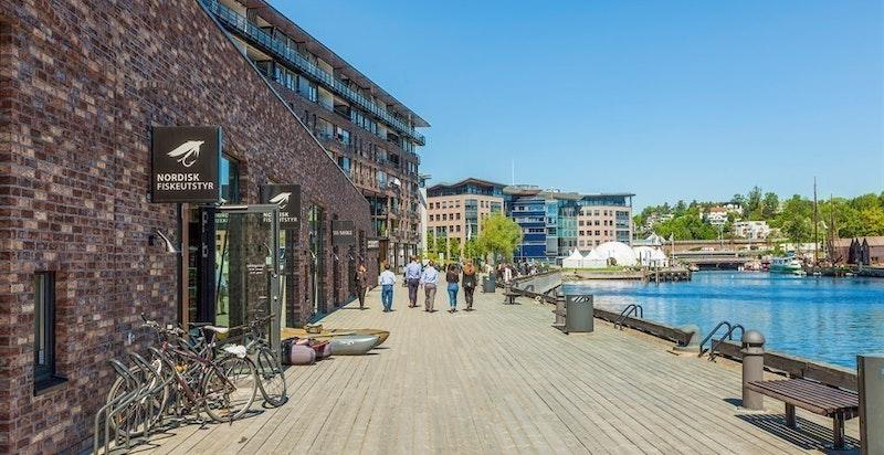 Lysaker Brygge - bryggen