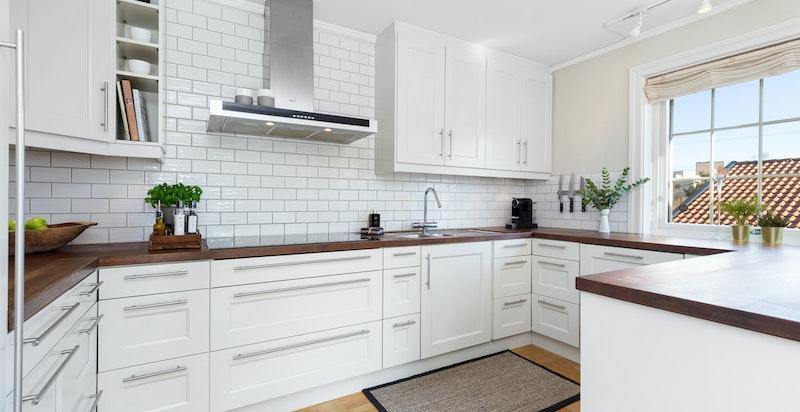 Kjøkkeninnredning fra Köksprofilen, nytt i 2009.