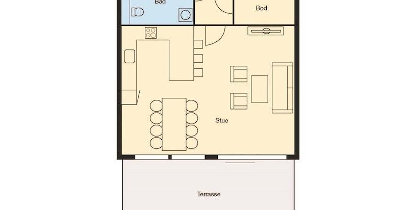 Plan m bygning