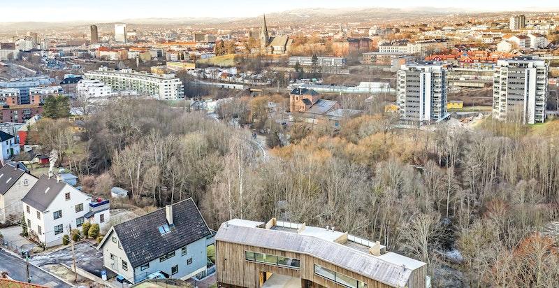 Et historisk, usjenert og sentrumsnært boligområde i bydel Gamle Oslo
