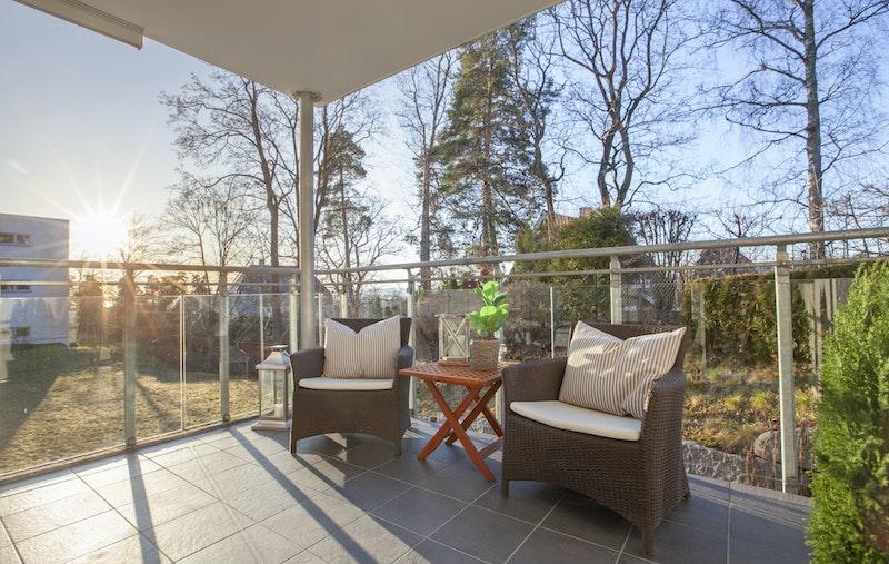 Terrasse ca. 8,5 kvm.