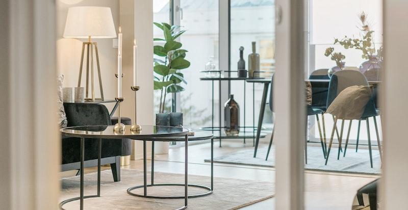 Smakfull og attraktiv leilighet i et av byens beste områder