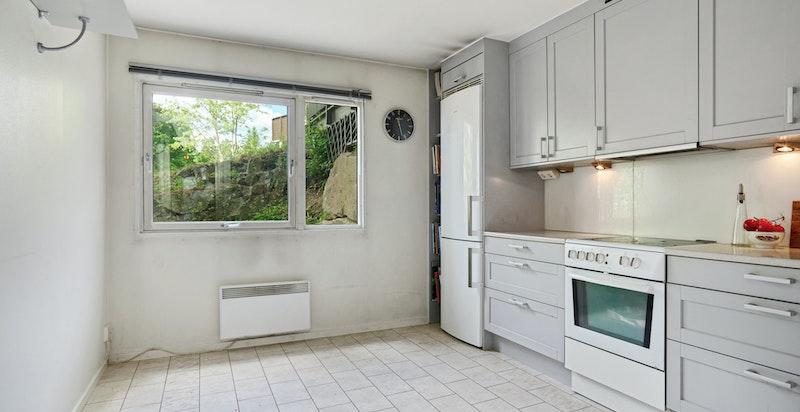 Pent kjøkken på separat rom