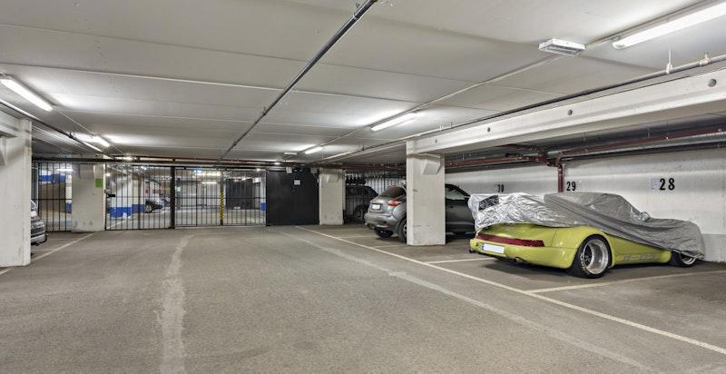 Garasje - plass nr 28