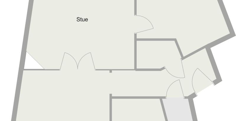 Mosseveien 18B - 4. Etasje - 2D Floor Plan (1)