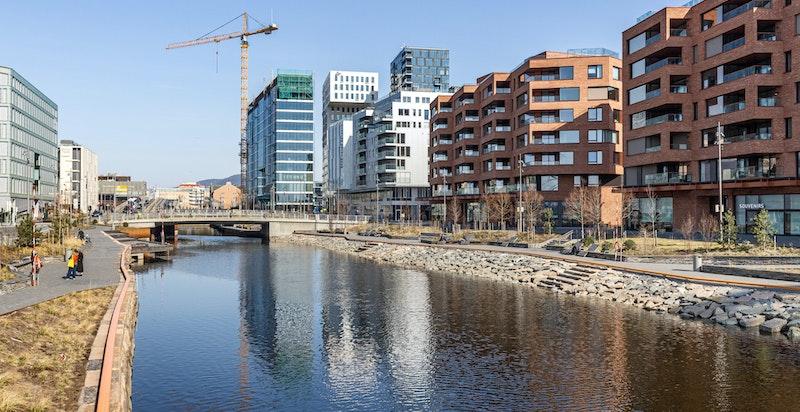 Nærmiljø Munch Brygge.