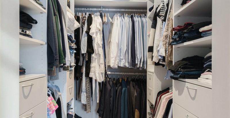 Walk-in-garderobe.