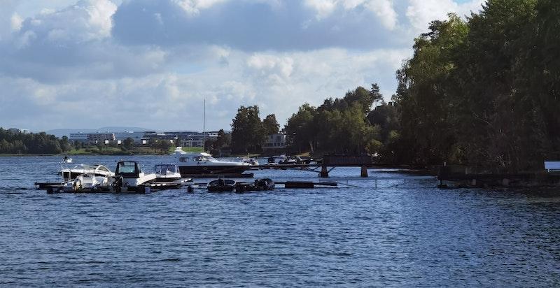 Båtplassen ligger på PB 5 i Koksabukta.