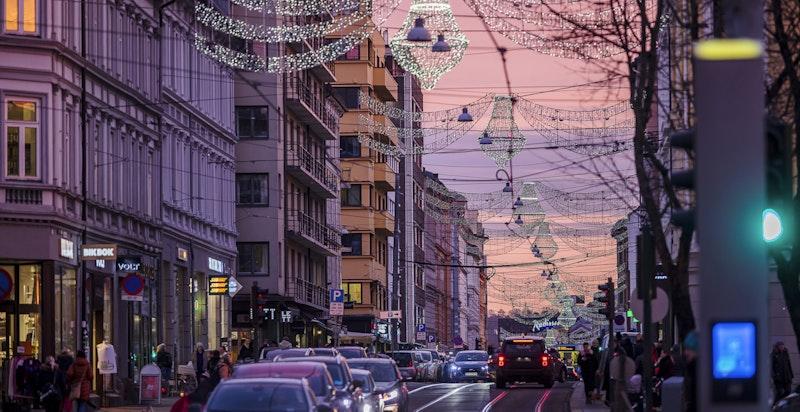 Kort avstand til populære Bogstadveien med sitt store utvalg av butikker og servicefunksjoner