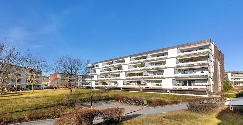 Fasade Skøyen Terrasse 32.