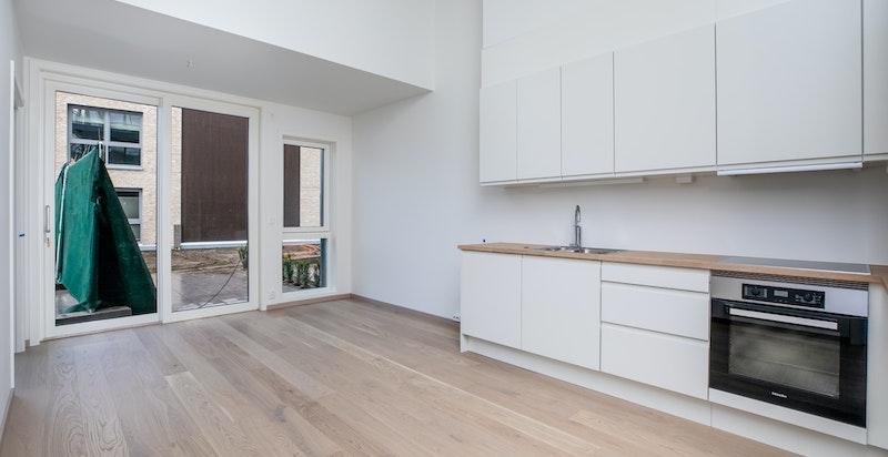 Stue, kjøkken og leil1