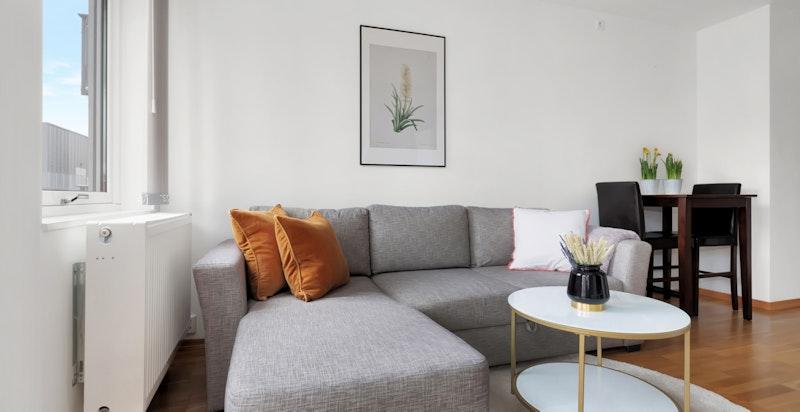 God plass til sofagruppe