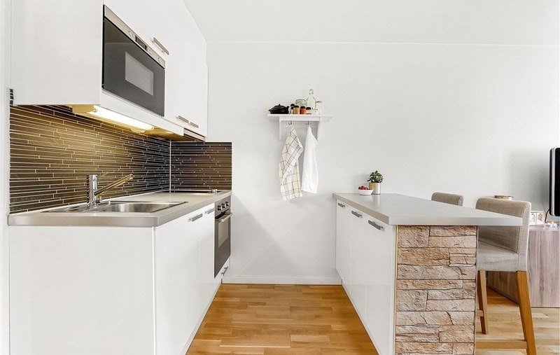 Bra skapplass på kjøkken