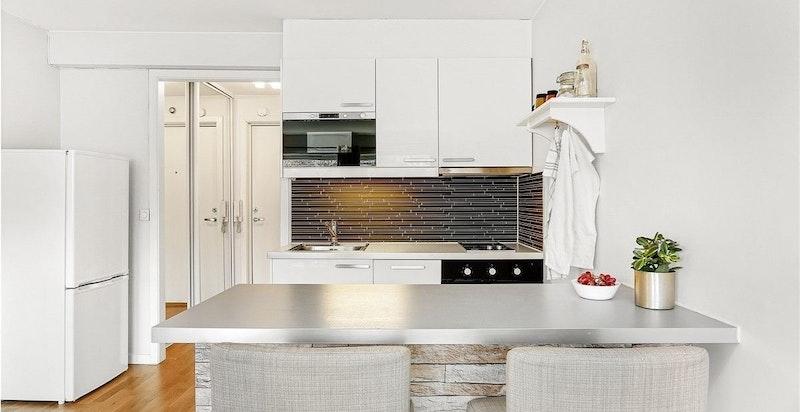 Kjøkken med sitteplass