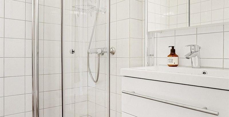 Moderne bad og innredning