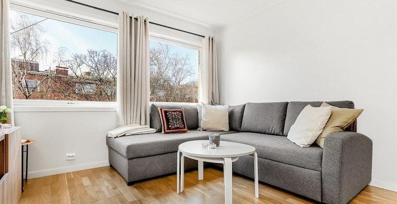 Seng og sofa kan settes inn etter nærmere avtale