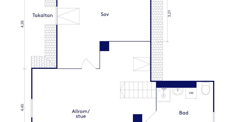 Planskisse 3. etg. (loft)