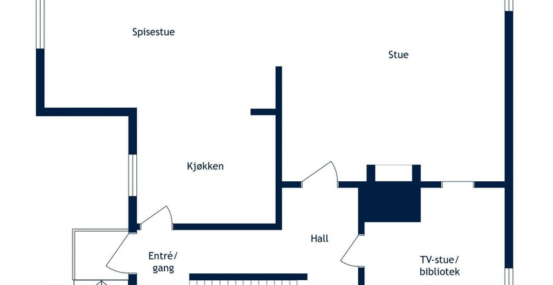 Planskisse 1.etasje