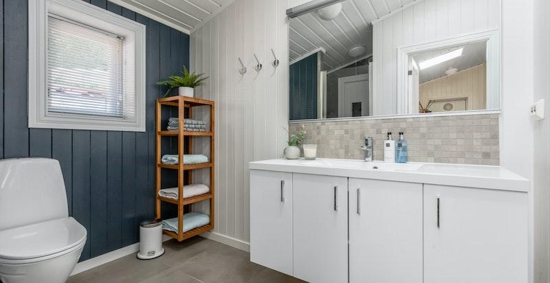 Dusjbad/wc med varmekabler