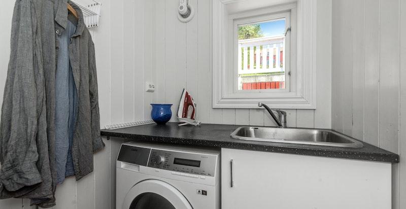 Vaskerom med varmekabler
