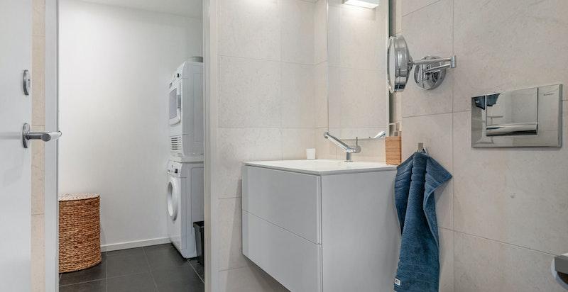Bad 2 med vaskerom